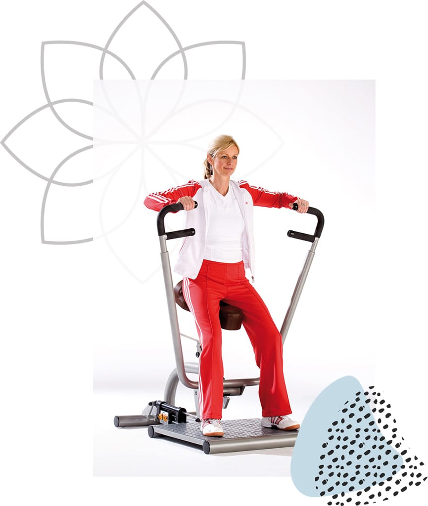 Femme Motion Zirkeltraining Corecurcuit - Brustpresse & Ruderzug - by Proxomed