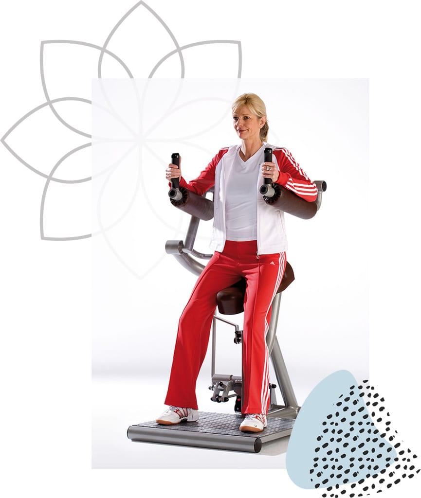 Femme Motion Zirkeltraining Corecurcuit - Rückenstrecker & Beuger - by Proxomed