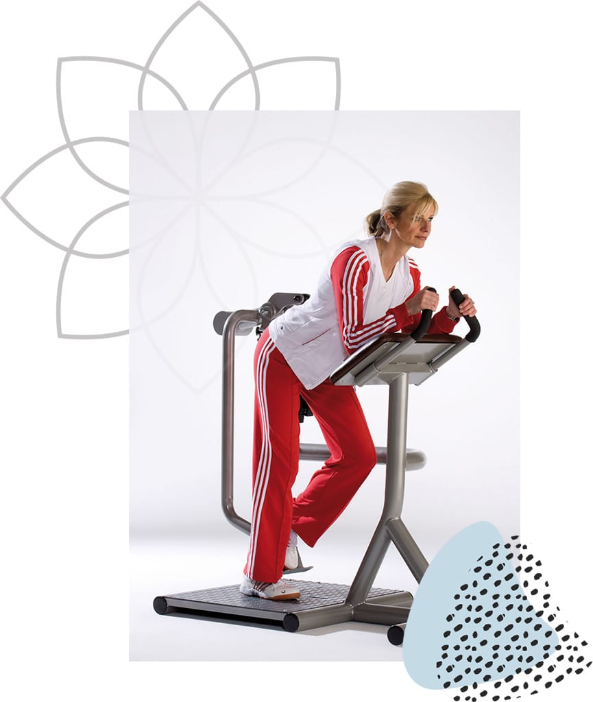 Femme Motion Zirkeltraining Corecurcuit - Hüftstrecker links - by Proxomed