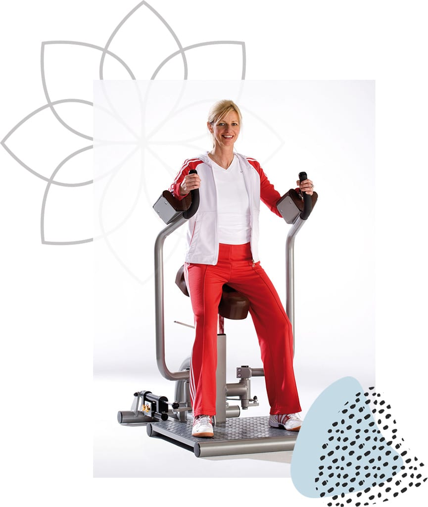 Femme Motion Zirkeltraining Corecurcuit - Haltungs- & Bruststabilisator - by Proxomed