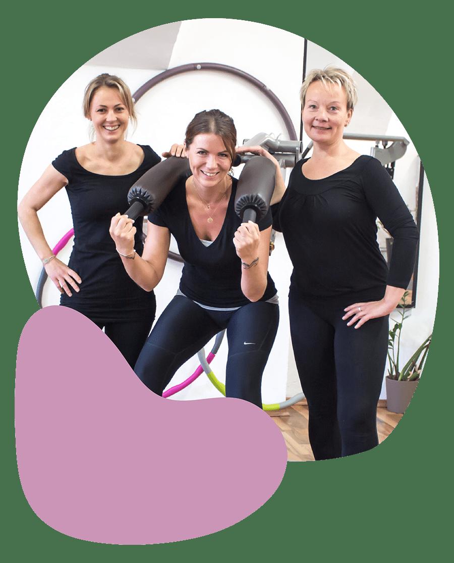 Femme Motion Villach - unsere Trainerinnen im Zirkel - Zirkeltraining - Fitness